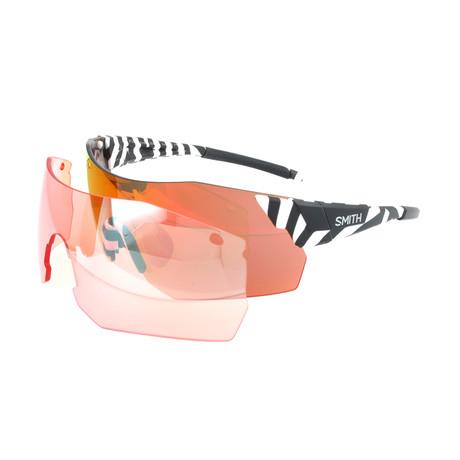 Unisex Pivlockare Sunglasses // White + Black