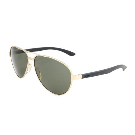 Men's Salute Sunglasses // Gold