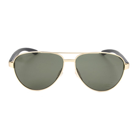 Men's Salute Sunglasses // Gold