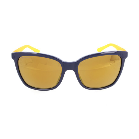 Women's Smith Sunglasses // Blue + Yellow