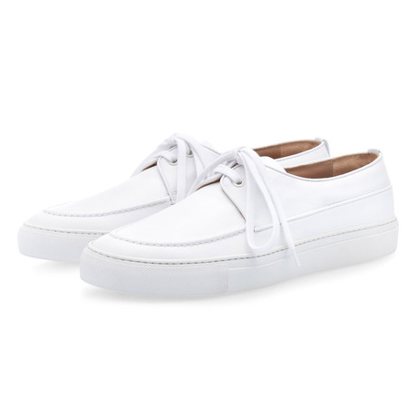 Murano Nappa Low Top // White (Euro: 39)