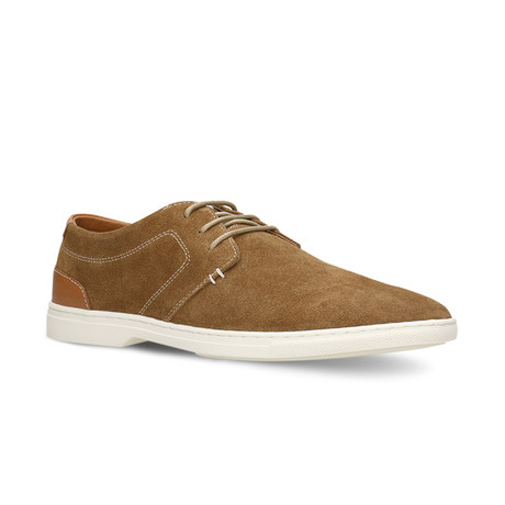 Lino Lace-Up // Cognac (Euro: 40)
