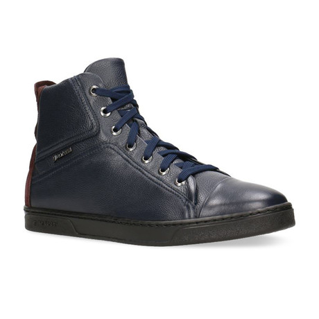 Dex Botties // Dark Navy Blue + Maroon (Euro: 40)