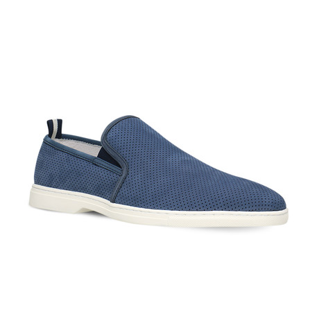 Lino Slip-On // Navy Blue (Euro: 40)