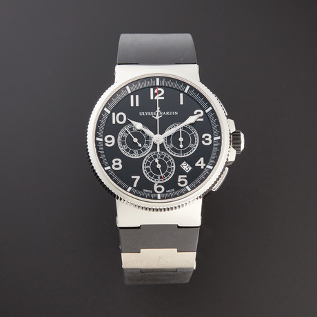 Ulysse Nardin Marine Chronograph Manufacture Automatic // 1503-150-3/62 // 3539848 // Pre-Owned