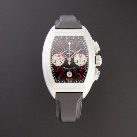 Franck Muller Conquistador King Chronograph Rosso Vivo Automatic // 8005 CC KING ROSSO // Pre-Owned