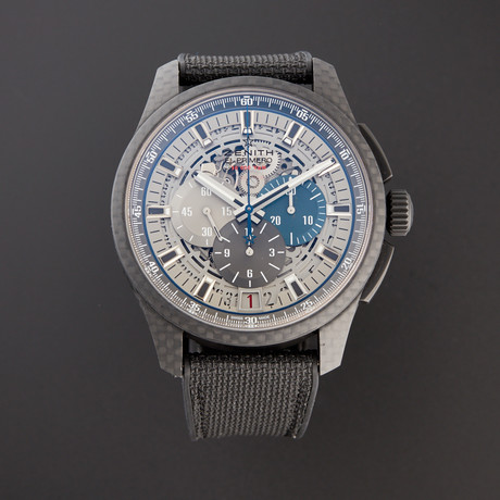 Zenith El Primero Lightweight Chronograph Automatic // 10.2260.400/69.R573 // Pre-Owned
