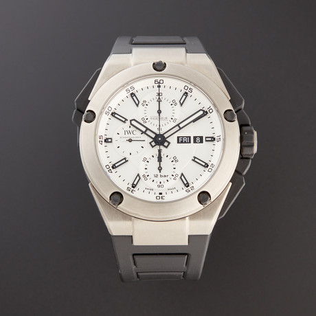 IWC Ingenieur Double Chronograph Automatic // IW3865-01 // Pre-Owned