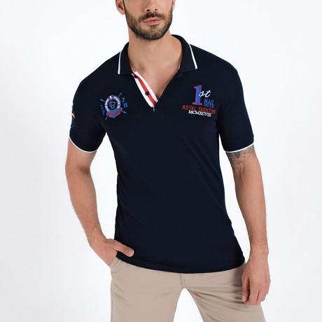 Tyrell Shirt // Navy (S)