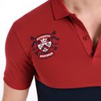 Gaige Polo // Burgundy (XL)