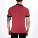 Caiden Shirt // Burgundy (XL)
