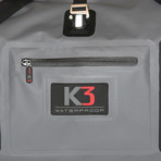 Icon Roll Top Duffle Bag // 45 Liter (Carbon)