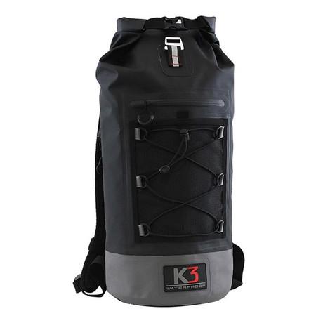 Poseidon Dry Bag Backpack // 30 Liter // Black