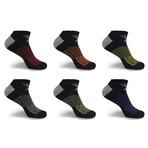 Super Lite Cushion Low-Cut Socks // 6-Pairs (Small / Medium)