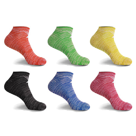 Dri-Fit Performance Cushion Low-Cut Socks // 6-Pairs (Small / Medium)