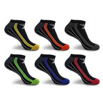 Elite III Cushion Performance Low-Cut Cushion Socks // 6-Pairs (Small / Medium)