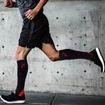 Bright Knee High-Compression Socks // 6-Pairs (Small / Medium)