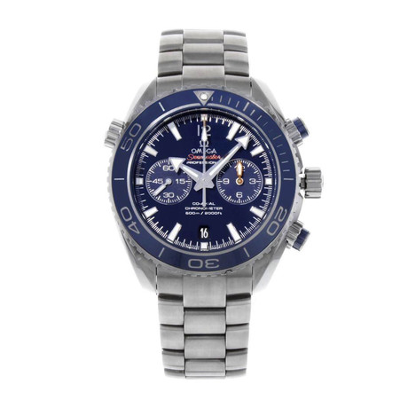 Omega Seamaster Planet Ocean Chronograph Automatic // O23290465103001 // Pre-Owned