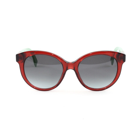 FF0013S Sunglasses // Burgundy