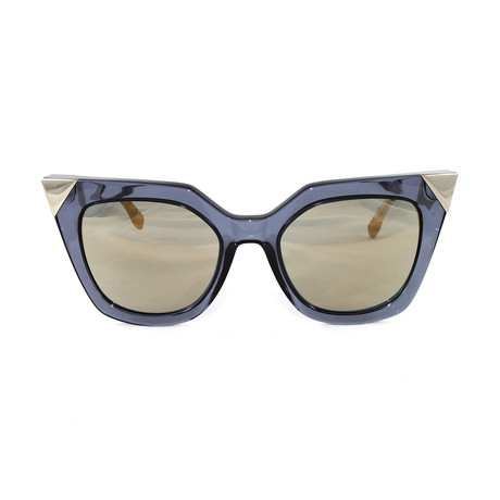 FF0060S Sunglasses // Blue + Gray + Gold