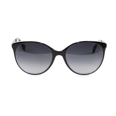 FF0078S Sunglasses // Black + Pearl