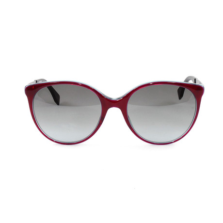 FF0078S Sunglasses // Red + Turquoise