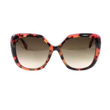 FF0107FS Sunglasses // Havana + Fuchsia