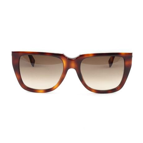 FF0087S Sunglasses // White + Havana