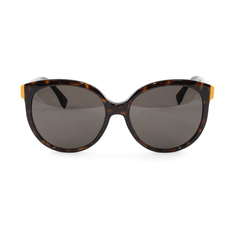 FF0144FS Sunglasses // Havana + Black