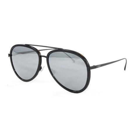 Fendi // Men's FF0155S Sunglasses // Havana + Black