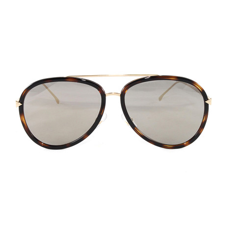FF0155S Sunglasses // Havana + Gold