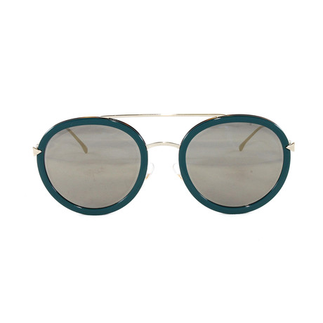 FF0156S Sunglasses // Blue + Gold