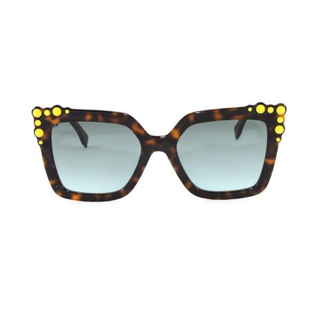 FF0260S Sunglasses // Havana + White