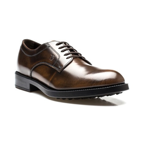 Leather Giovane Oxford Dress Shoes // Brown (US: 7)