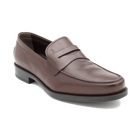 Leather Penny Loafer Shoes V3 // Brown (US: 9)