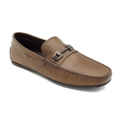 Leather Penny Loafer Shoes V2 // Brown (US: 8)