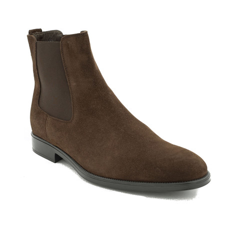Suede Ankle Boot Shoes // Brown (US: 7)