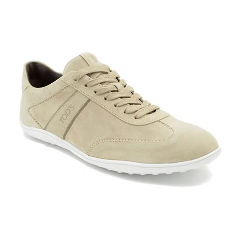 Suede Low Top Sneaker Shoes // Beige (US: 9)
