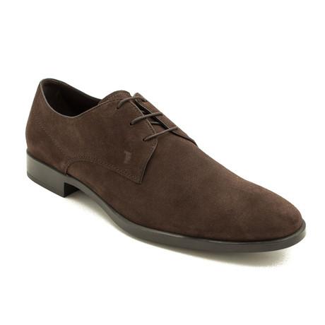 Suede Derby Oxford Dress Shoes V1 // Brown (US: 9)