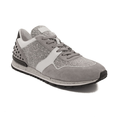 Leather Fabric Sneaker Shoes // Gray (US: 10)