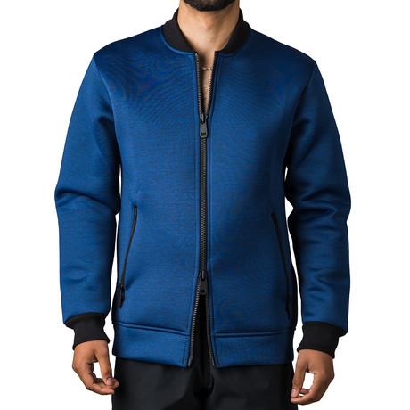 Bomber Jacket // Blue (S)