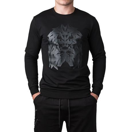Lion Sweater // Black (S)
