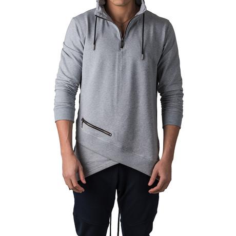 Zipper Hoodie // Gray (S)