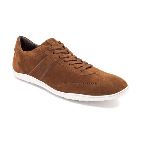 Suede Low Top Sneaker Shoes // Brown (US: 8)