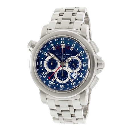 Carl F. Bucherer Patravi TravelTec Chronograph GMT Automatic // 00.10620.08.53.21 // Store Display