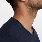 Pique T-Shirt // Navy Blue (2XL)