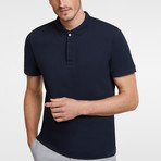 Polo // Navy Blue (3XL)