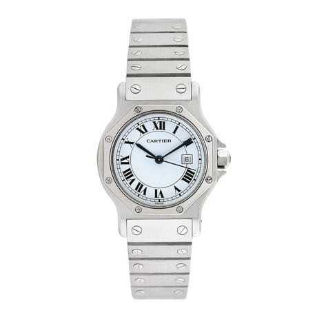 Cartier Ladies Santos Octagon Automatic // Pre-Owned