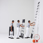 Telescoping Ladder Bundle // Red