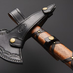 Damascus Steel Axe // AX-S01